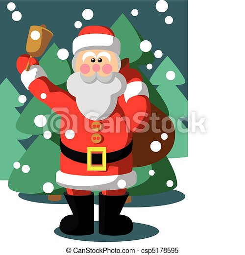 photo about Santa Claus Printable Pictures referred to as Santa Claus coloration 05