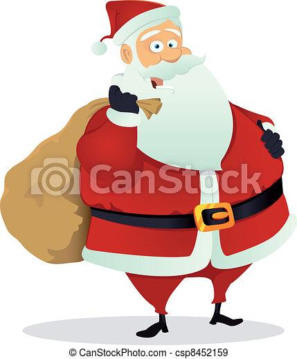Santa Claus - csp8452159