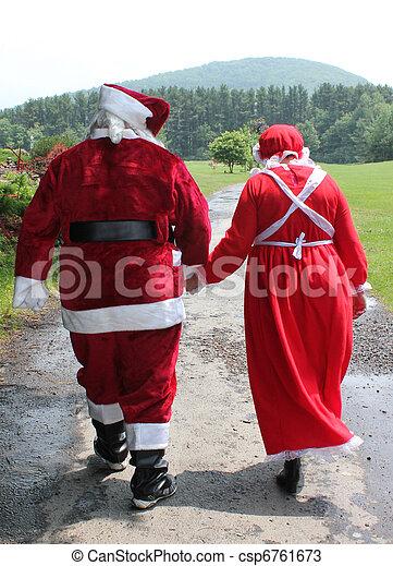 Santa Claus In Love Csp6761673