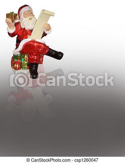 Santa Claus Ornament - csp1260047