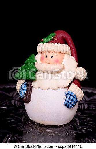 Santa Claus Ornament - csp23944416