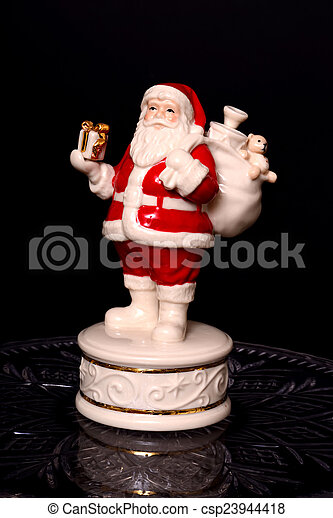 Santa Claus Ornament - csp23944418