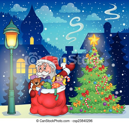 Santa Claus topic image 3 - csp23840296