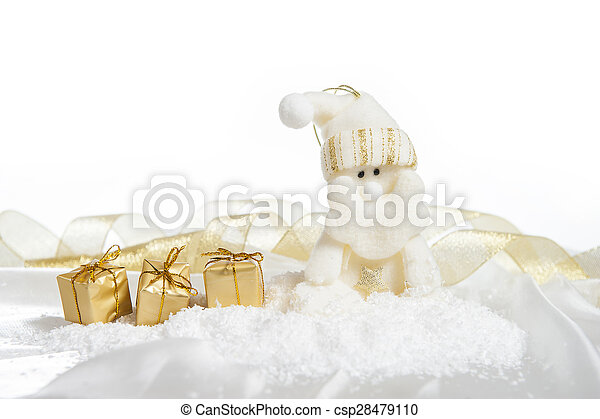 Santa Claus with gifts - csp28479110
