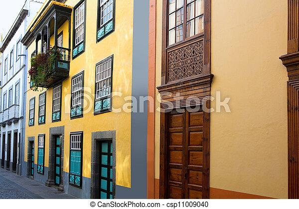 Santa Cruz de La Palma colonial street house - csp11009040