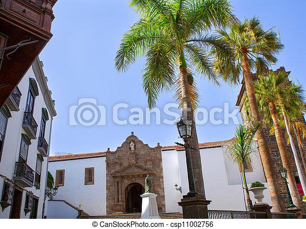 Santa Cruz de La Palma Plaza de Espana - csp11002756
