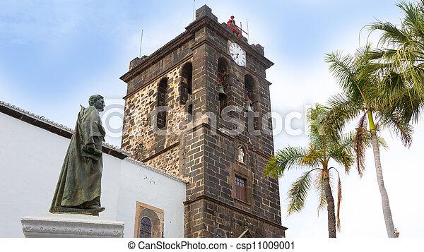 Santa Cruz de La Palma Plaza de Espana Iglesia - csp11009001