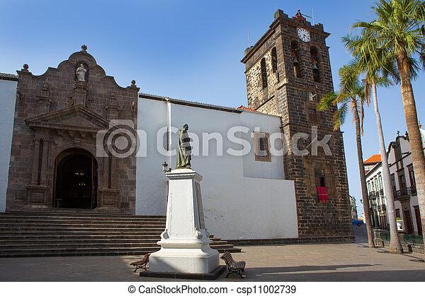 Santa Cruz de La Palma Plaza de Espana - csp11002739