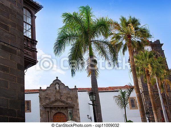 Santa Cruz de La Palma Plaza de Espana Iglesia - csp11009032