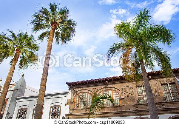 Santa Cruz de La Palma Plaza Espana town hall - csp11009033