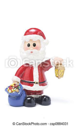 Santa Figure - csp0884031