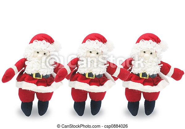 Santa Figures - csp0884026