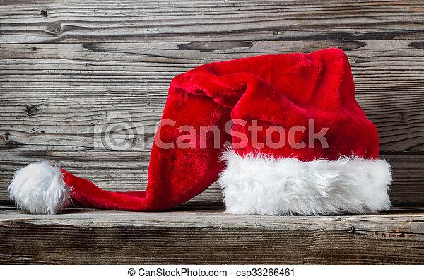 Santa hat - csp33266461