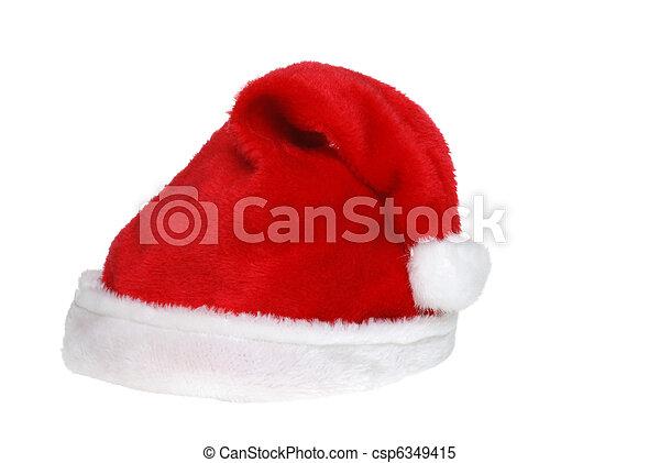 santa hat - csp6349415