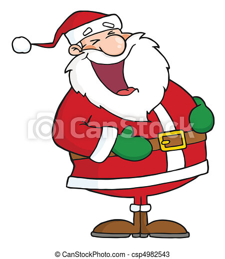 santa laughing laughs santa claus vectors search clip art rh canstockphoto com clip art laughing hard clip art laughing hard