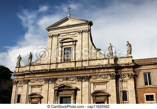 Santa Maria Della Consolazione In Rome