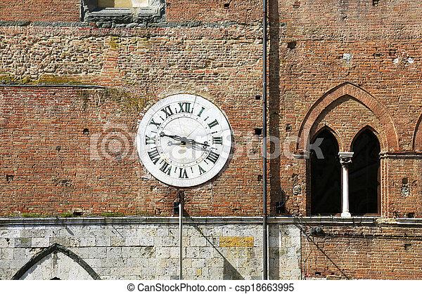 Santa Maria della Scala Siena Italy - csp18663995