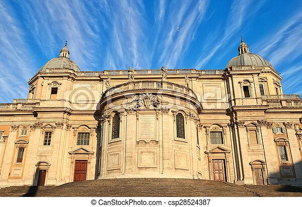 Santa Maria Maggiore in Rome - csp28524387