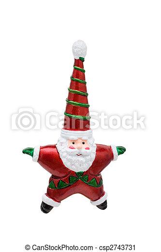 Santa Ornament - csp2743731