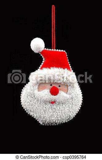 santa ornament - csp0395764