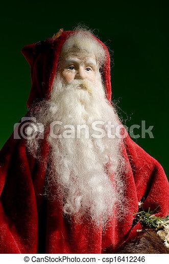 Santa Ornament - csp16412246