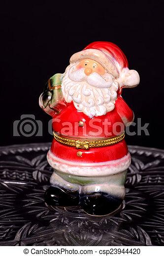 Santa ornament - csp23944420