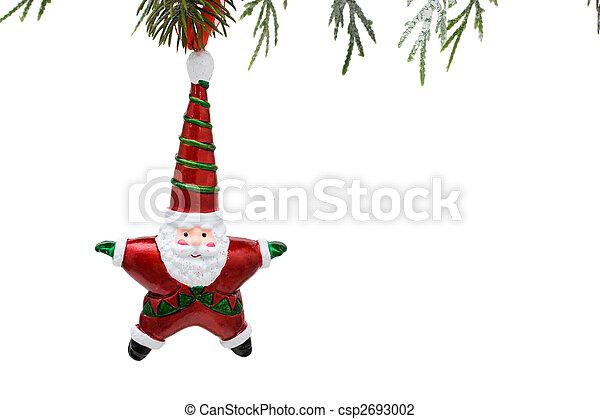 Santa Ornament - csp2693002