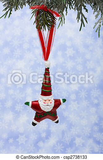 Santa Ornament - csp2738133