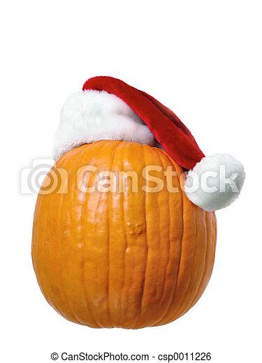 Santa Pumpkin - csp0011226