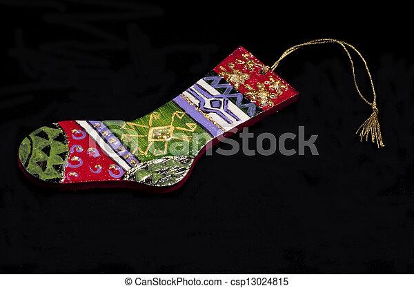 Santa Socks made by ceramic - csp13024815
