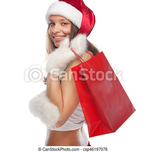 Santa's helper - csp46197076