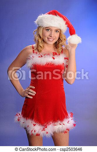 Santa's helper - csp2503646