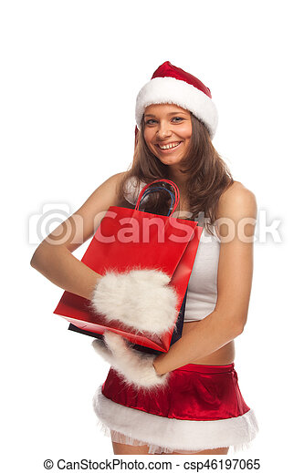Santa's helper - csp46197065