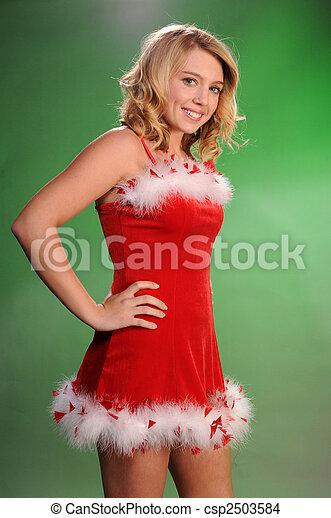 Santa's helper - csp2503584