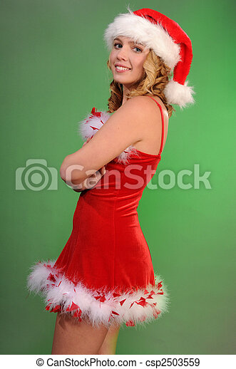 Santa's helper - csp2503559