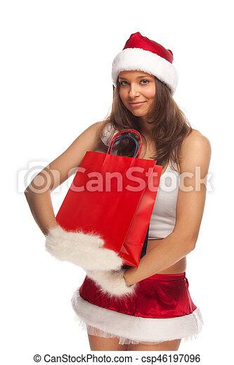 Santa's helper - csp46197096
