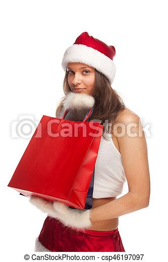 Santa's helper - csp46197097