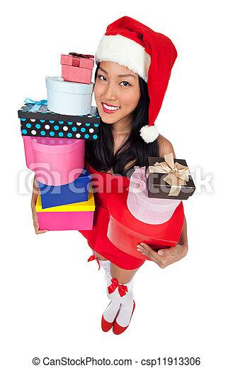 Santa's Helper - csp11913306