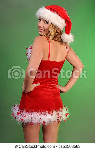 Santa's helper - csp2503563