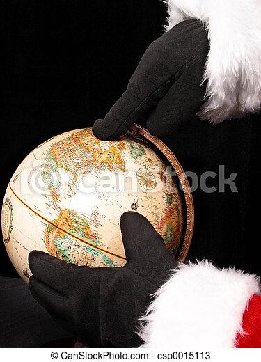 Santa's Plans - csp0015113