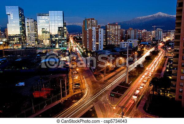 Santiago, chile - csp5734043