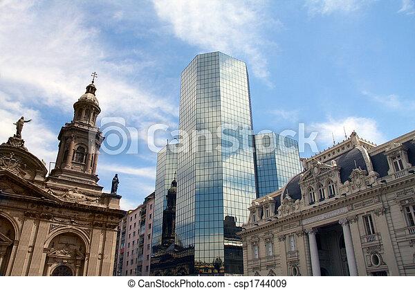 Santiago, Chile - csp1744009