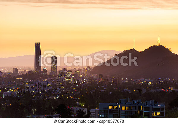 Santiago de Chile - csp40577670