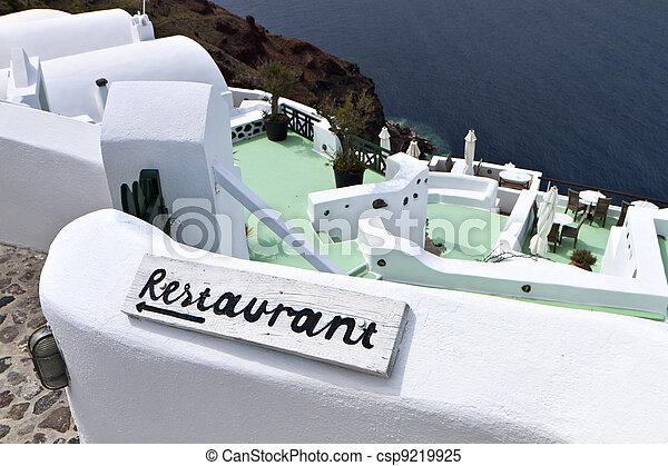 Santorini island in Greece - csp9219925