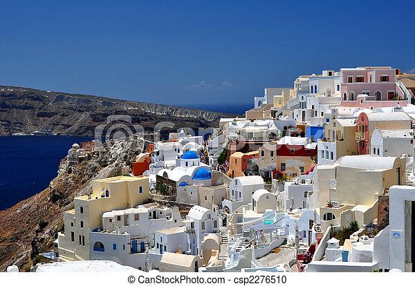 Santorini Island - csp2276510