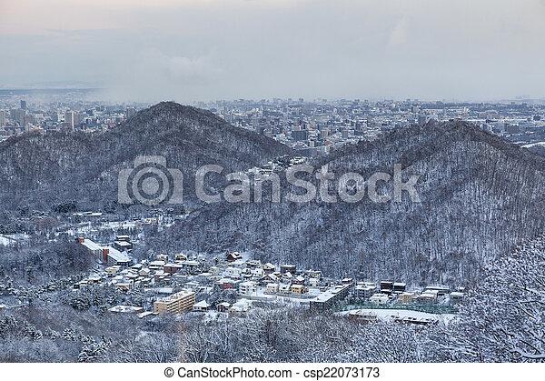 Sapporo city - csp22073173