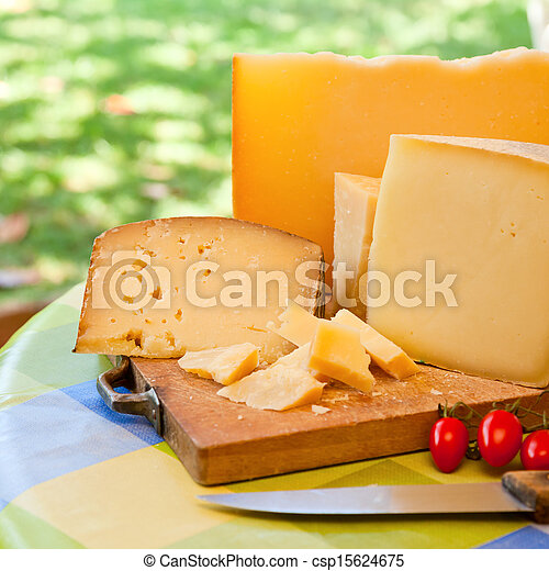 Sardinian cheese - csp15624675