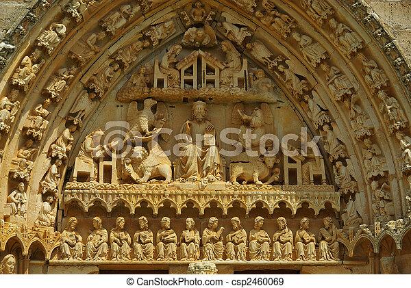Sasamon church 01 - csp2460069