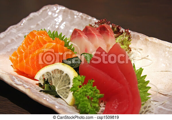 Sashimi arrangement - csp1509819