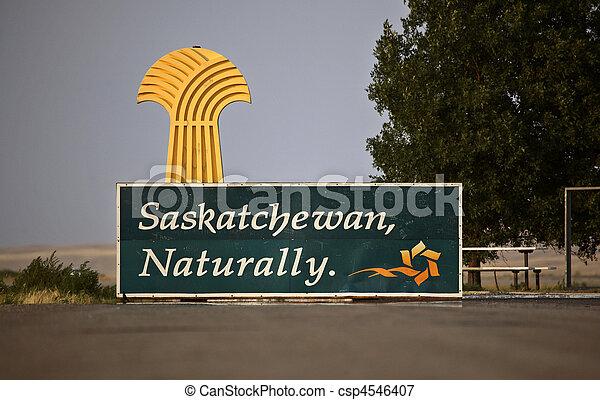 Una señal para Saskatchewan - csp4546407